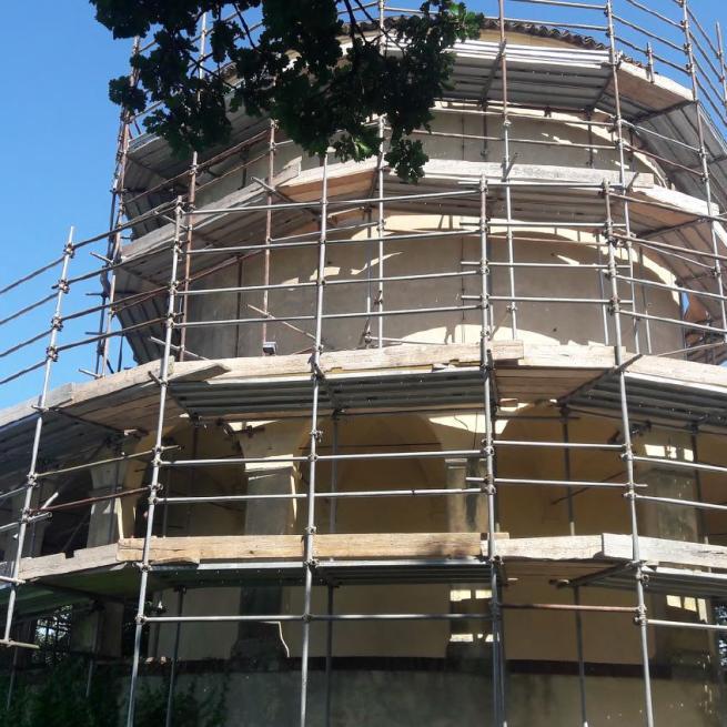 """NEWS/COMUNICATO STAMPA: Sacro Monte di Crea, restauro della Cappella XXIII """"Incoronazione di Maria in cielo"""" detta Cappella del Paradiso"""