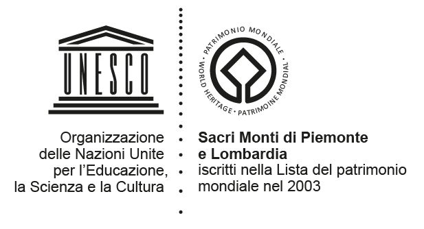 Sacri Monti logo of Piedmont and Lombardy
